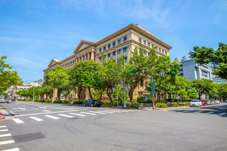 formosa: Building of taiwan high court in taipei