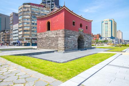 チェン専用ゲート、北ゲートの古い台北市