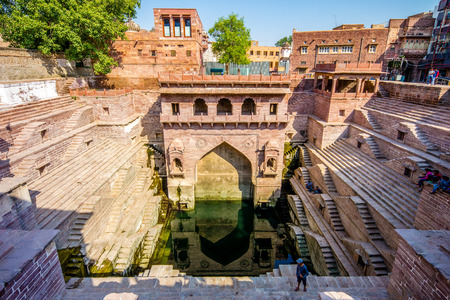 The Step Well in Jodhpur, India