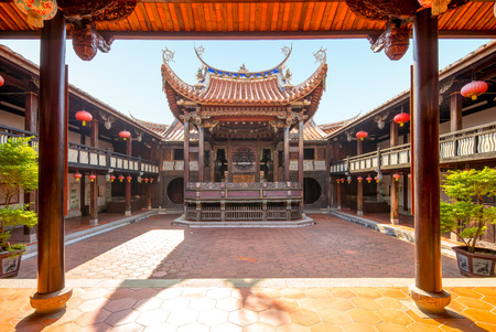 Hall of Large Flowers in Wufeng Lin Family Mansion and Garden