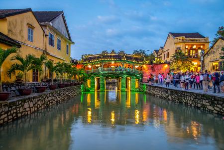 Japanese Covered Bridge, also called Lai Vien Kieu Editorial