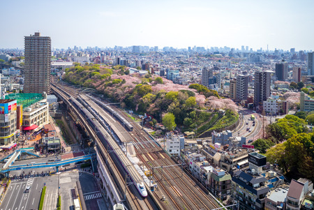 Railway and metro system of tokyo, japan