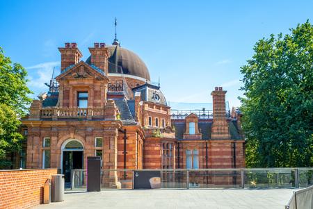 Real Observatorio de Greenwich en Londres, Inglaterra, Reino Unido.