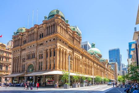 Queen Victoria Building, zabytek w Sydney Publikacyjne