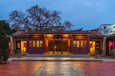 Kinmen Military Headquarters of the Qing Dynasty. the chinese characters mean