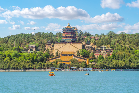 Longevity Hill im Sommerpalast in Peking, China