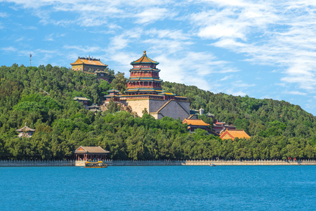 Longevity Hill at Summer Palace in beijing, china