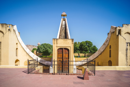 Jantar Mantar at Jaipur, rajasthan, india