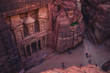 Al Khazneh (The Treasury) at Petra, jordan