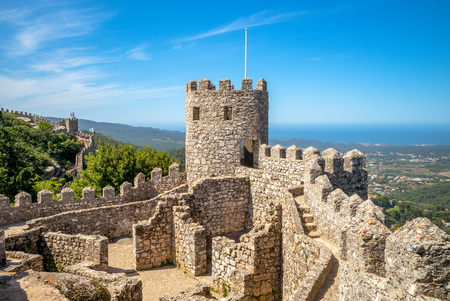 Castle of the Moors at Sintra, Portugal 報道画像