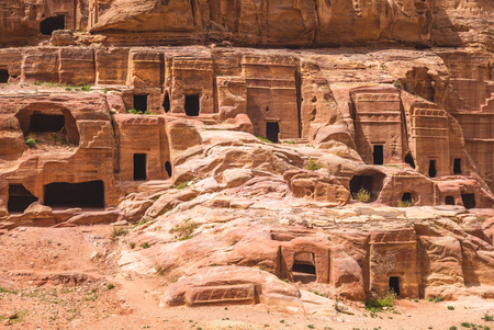 Traditional Cave home in Petra, Jordan