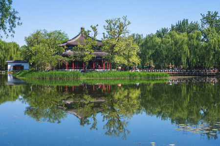 scenery of old summer palace,  Imperial Gardens