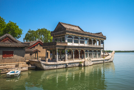 Boat of Purity and Ease in Summer Palace, beijing