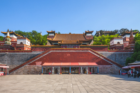 Longevity Hill at Summer Palace in beijing, china 報道画像