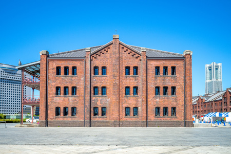 Yokohama Red Brick Warehouse, japan