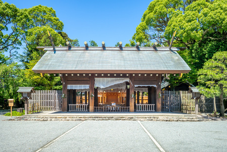 Iseyama kotai Jingu Shrine in Yokohama, Japan