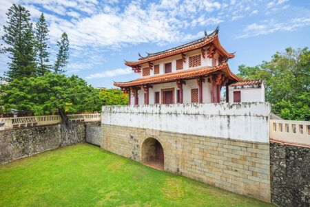 the Great South Gate in Tainan, Taiwan