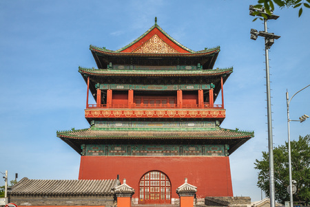 Bell Tower and drum tower of Beijing 報道画像