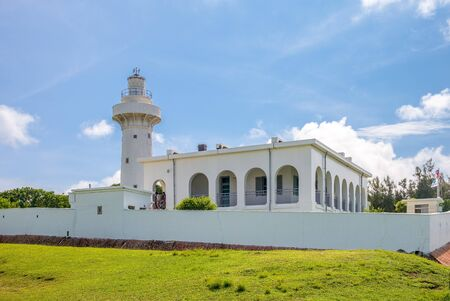 Eluanbi lighthouse at kenting, pingtung, Taiwan