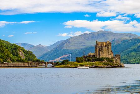 Eilean Donan Castle, Scottish Highlands, UK Banque d'images - 126614678