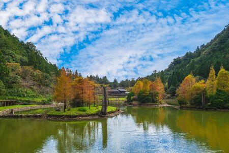 zone de loisirs de la forêt mingchi à yilan, taiwan