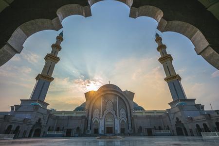 Mosquée du territoire fédéral à Kuala Lumpur, Malaisie