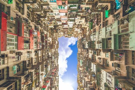 yichang building in hong kong, china