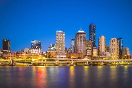 Brisbane skyline, capital of Queensland, Australia