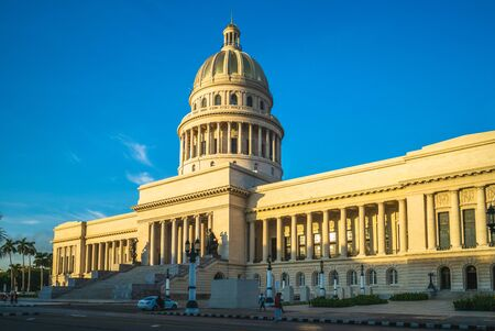 National Capitol Building in havana, cuba Stok Fotoğraf - 137893694