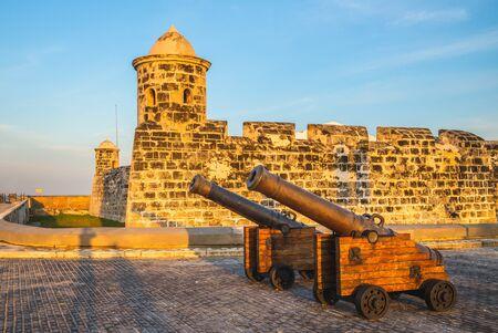 San Salvador de la Punta Fortress in havana, cuba