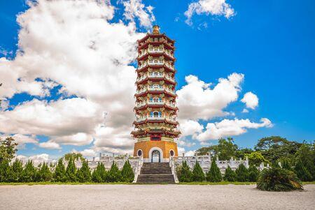 Ci En Pagoda near Sun-Moon Lake in nantou, taiwan