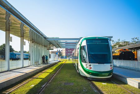 Circular light rail in Kaohsiung, Taiwan