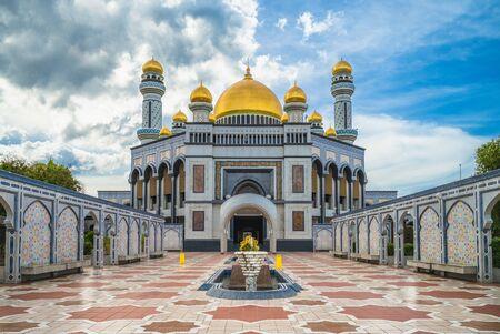 Jame Asr Hassanil Bolkiah Mosque in brunei