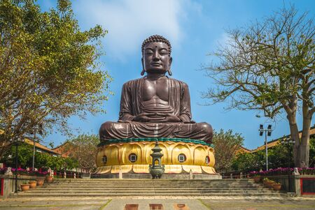 giant Buddhist statue in changhua, taiwan
