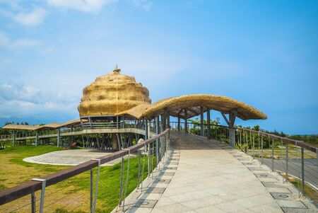 International landmark of Seaside Park in Taitung, Taiwan
