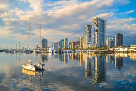 Port of Manila at manila bay, philippines