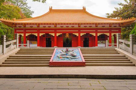 Confucius Temple in Chiayi, Taiwan