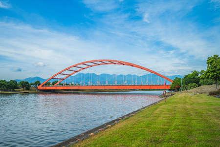 Dongshan River Water Park in Yilan, Taiwan
