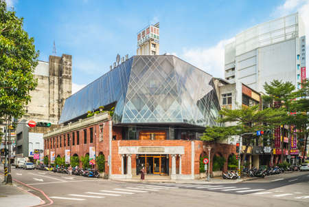 October 20, 2020: Former Miyahara eye hospital, the largest eye clinic in Taichung at that time built by a Japanese optometrist Miyahara. Now it is an ice cream joint located in Taichung, taiwan.