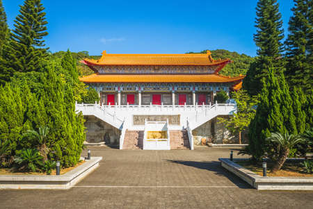 Dacheng Gate of Taoyuan Confucius Temple in Taiwan. Translation: Dacheng Gate.