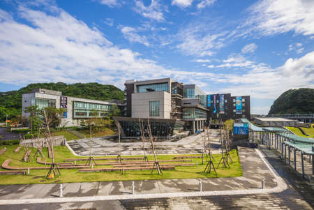 November 25, 2020: National Museum of Marine Science and Technology (NMMST), opened on December 30, 2013, is located in the Badouzi peninsula and Wanghaixiang Bay, Keelung city, Taiwan.