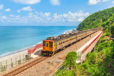 scenery of Duoliang Station in Taitung, taiwan