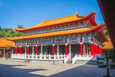 Dacheng Hall of Taoyuan Confucius Temple in Taiwan. Translation: Dacheng Hall. 新聞圖片