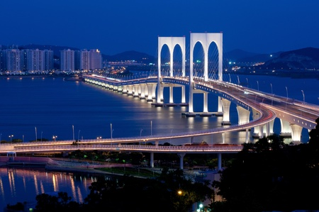 the sai van bridge, Macao