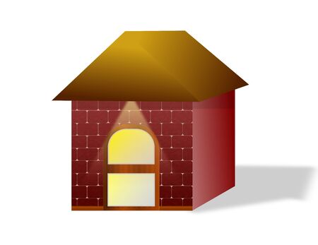 A Small Box House Stock Photo - 18550592