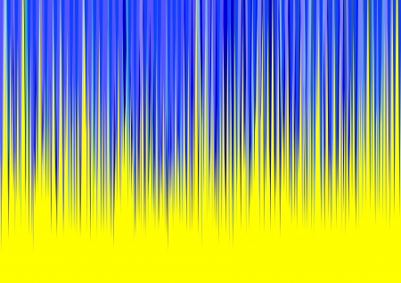 Blue Stripes on Yellow Background