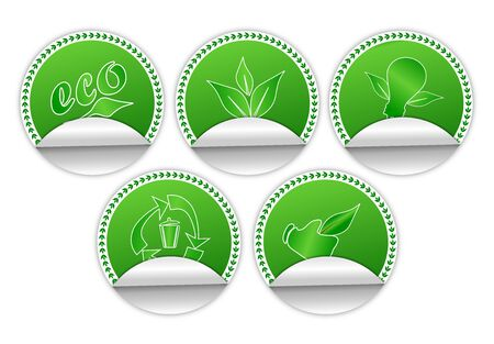Environment Friendly Stickers