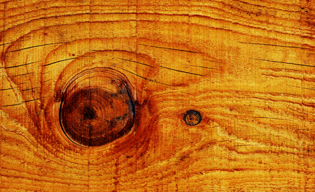 honey tone: Coarse natural wood grain background texture with an eye or knot.