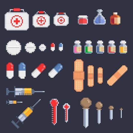 pixel art health medkit