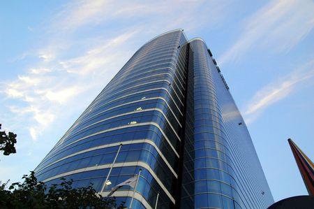 Building in Korea  Standard-Bild